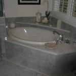 Corner Spa Tub in Master Bathroom