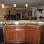 Granite Kitchen Island